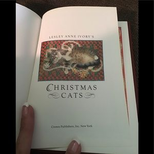 """""""Christmas cats"""" paintings small book"""